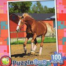 Horse on a Farm - Puzzlebug - 100 Pieces Jigsaw Puzzle