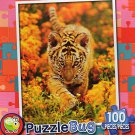 Curious Tiger Cub - Puzzlebug - 100 Pieces Jigsaw Puzzle