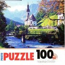Ramsau Cherch, Bavaria - 100 Pieces Jigsaw Photo Puzzle