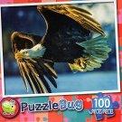 American Bold Eagle - Puzzlebug 100 Piece Jigsaw Puzzle
