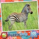 Zebra (Baby) - Puzzlebug 100 Pc Jigsaw Puzzle