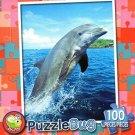 Bottlenose Dolphin - Puzzlebug 100 Pc Jigsaw Puzzle