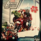 Avengers Assemble, 100 Piece Puzzle, Iron Man, The Hulk, and Friends