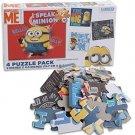 Minions- 4 Puzzle Pack (4 X 12) - I speak Minion
