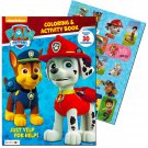 Paw Patrol Coloring and Activity Book with Stickers