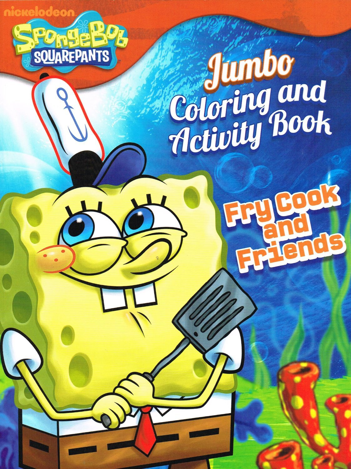 Spongebob squarepants coloring book assorted
