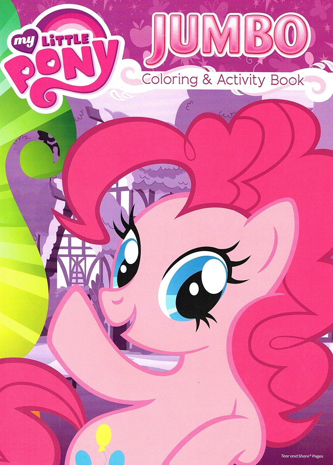 My Little Pony Jumbo Coloring and Activity Book