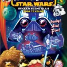 Bendon Publishing Angry Birds/Star Wars Sticker Scene Coloring Book