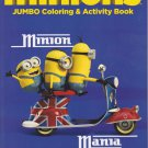Minions Coloring and Activity Book