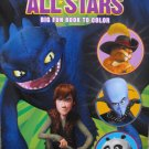 DreamWorks All Stars Big Fun Book to Color (Coloring & Activity Book)