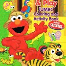 Sesame Street Explore & Play Jumbo Coloring & Activity Book