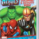 Marvel Heroes: Jumbo Coloring & Activity Book