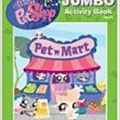 Littlest Pet Shop Jumbo Activity Coloring Book - Pet Mart