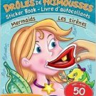 Funny Faces Mermaids Sticker & Coloring Book with 50 Stickers