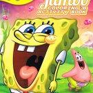 Sponge Bob Square Pants Jumbo Coloring & Activity BookS!