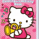Hello Kitty Coloring & Activity Book