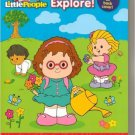 Fisher Price Little People Let's Explore Activity Book