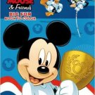 Mickey Mouse & Friends Big Fun Book to Color ~ Go for It!