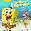 SpongeBob SquarePants Jumbo Coloring & Activity Book ~ Fry Cook & Friends