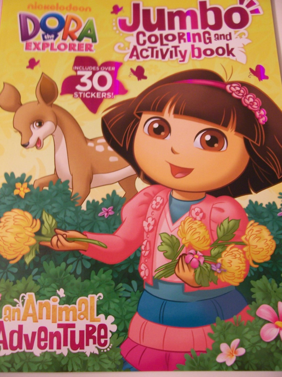 dora the explorer jumbo coloring activity book with over 30 stickers an animal adventure - Jumbo Coloring Book