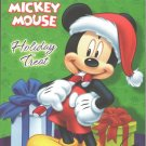 Disney Mickey Mouse Christmas Holiday Coloring Book - Holiday Treat
