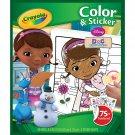 Crayola Doc McStuffins Color 'n Sticker Books