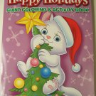 Happy Holidays 160 Page Giant Coloring and Activity Book ~ Christmas Edition