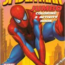 Spider-Man Jumbo Coloring & Activity Book ~ Orange