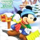 Mickey Mouse Big Fun Book to Color ~ Snowed In!