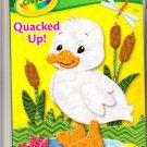 Crayola Quacked Up Big Fun Book To Color