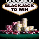 Playing Blackjack to Win: A New Strategy for the Game of 21.  Roger Baldwin