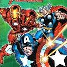 The Mighty Avengers Big Fun Book to Color ~ Brave in Battle