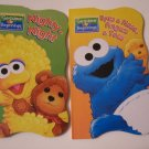 Sesame Beginnings Shaped Educational Board Book - Assorted
