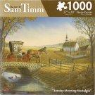 Sunday Morning Nostalgia 1000 Piece Puzzle by Sam Timm