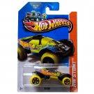 Hot Wheels 2013 Hw Stunt Da'kar 89/250 Yellow