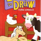 Learn to Draw Farm Animals - Assorted