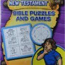 New Testament Bible Puzzles and Games. Book