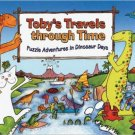 Toby's Travels Through Time: Puzzle Adventures in Dinosaur Days. Book.  Eva Oburkova