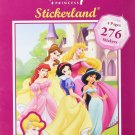 Disney Princess Stickerland Pad - 276 Stickers
