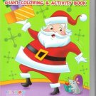 Happy Holidays Giant Coloring & Activity Book ~ Santa & Mouse Art Cover