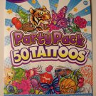 Savvi Party Pack Tattoos ~ 50 Tattoos