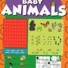 Dry Erase Wipe-Clean Book ~ Baby Animals