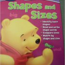 Disney I Can Learn with Pooh Educational Early Skills Workbook ~ Shapes & Sizes
