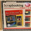 Paper Boutique Simple 1-2-3 School Days Scrapbooking. Book.
