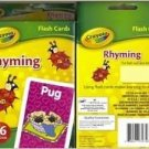 Crayola Rhyming Flash Cards