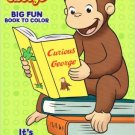 Curious George Big Fun Book to Color ~ It's Storytime!