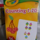 Crayola Counting 1-20 Flash Cards, Set of 36 Flash Cards