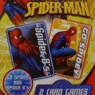 Spider Sense Spider-man Card Games ( Two Card Games, Spider 8's And Go Spidey)