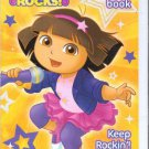 Nickelodeon Dora Rocks Activity Book (Includes Stickers) Keep Rockin'!