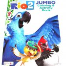 Bendon Blue Sky Studios Rio 2 Coloring & Activity Book 96 Total Pages